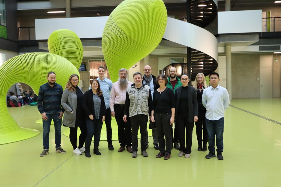 Group photo of the AccessibleMap Team